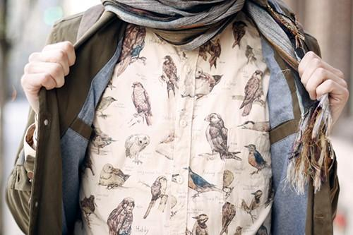 - STYLE & CLOTHING - / birds, birds, birds...