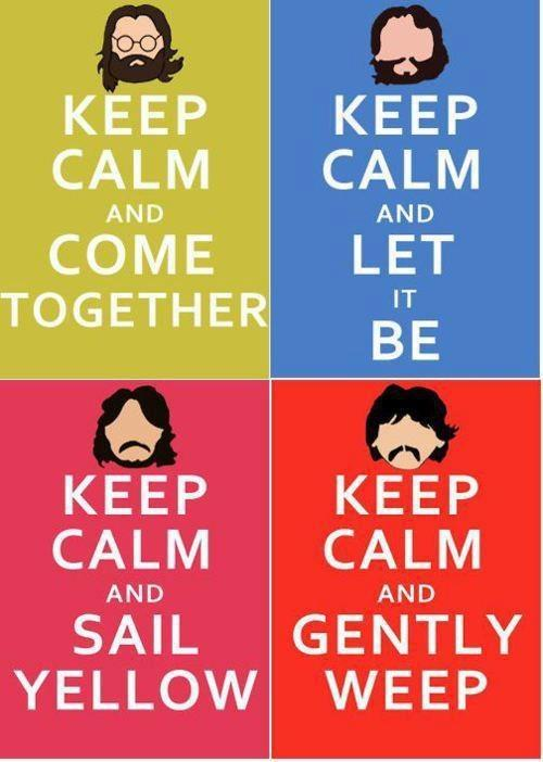 Keep calm and come together.