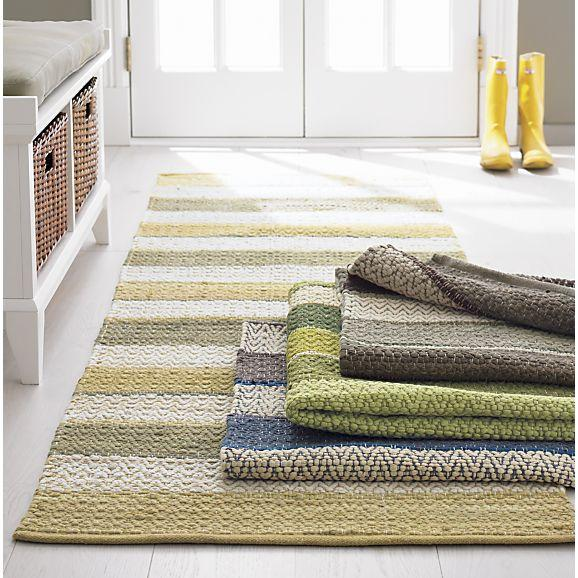 Harper Maize Rug In Area Rugs | Crate And Barrel