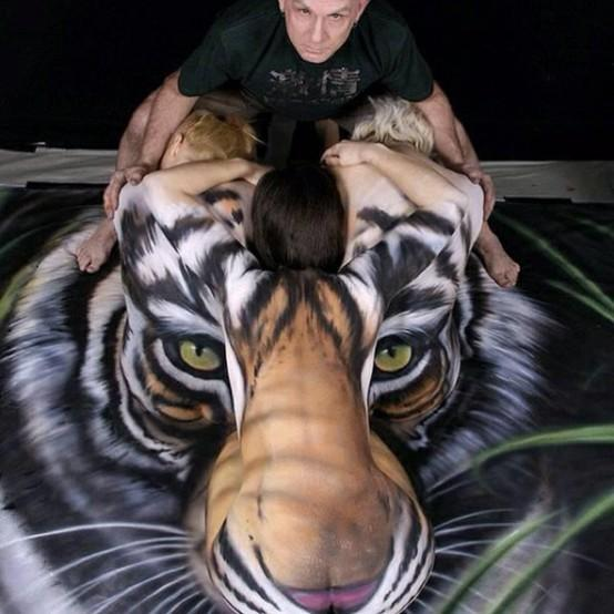 I love this / Beautiful body painting !!!!