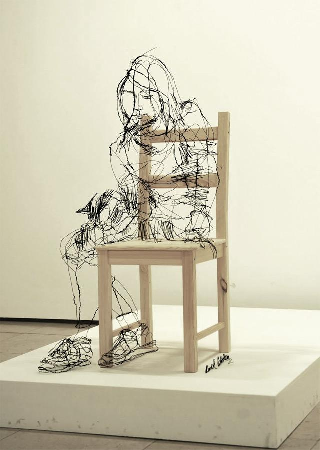 Wire 3D Sculptures – Fubiz™