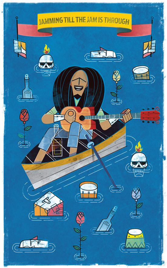 A tribute to Bob Marley « Hugo Herrera, freelance illustrator & designer