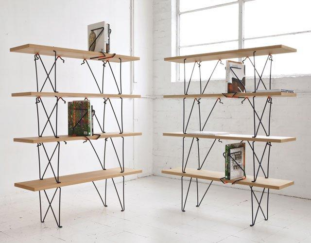 Fancy - Holdfast Bookshelves by Sam Weller