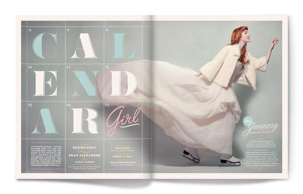 Calendar Girl par Matt Chase | InspireFirst