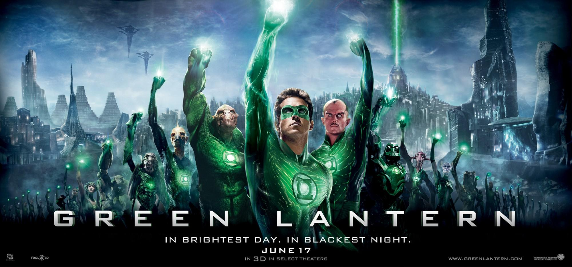 Green Lantern: Mega image au format Movie Poster - Internet Movie Poster Gallery Prix