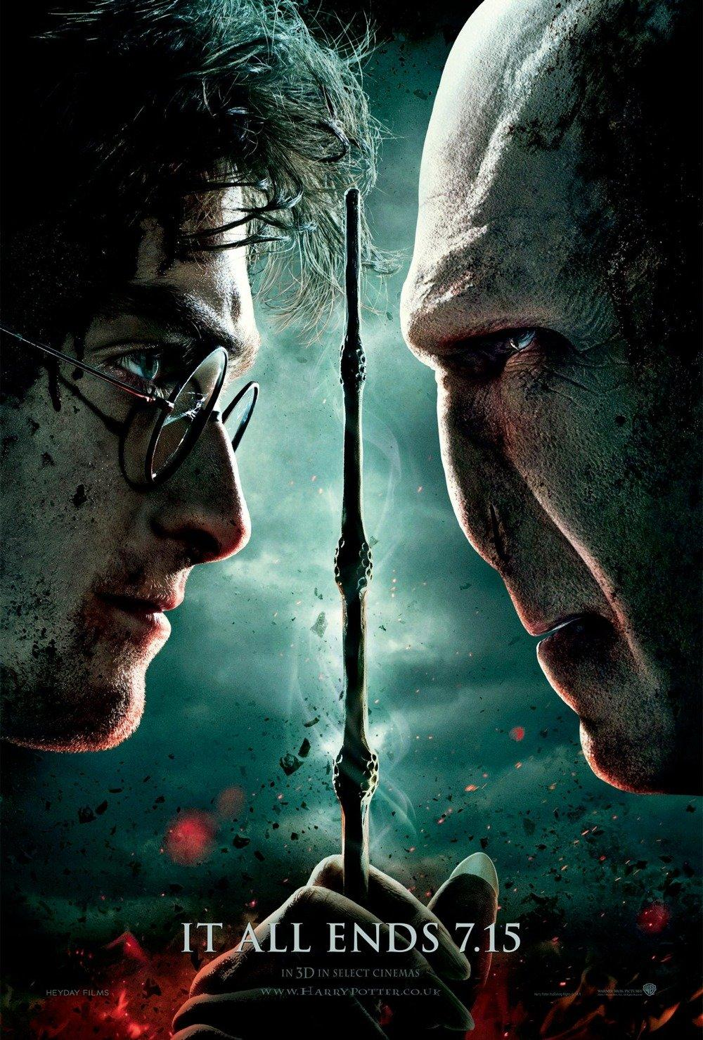 Harry Potter et les Reliques de la Mort: Partie 2: Extra Large Image Movie Poster - Internet Movie Poster Gallery Prix