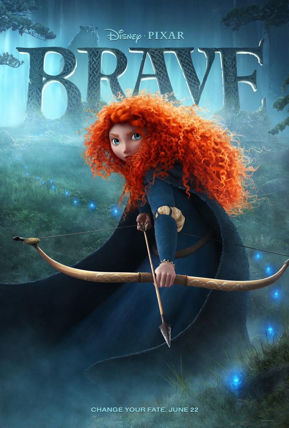Brave: Extra Large Image Movie Poster - Internet Movie Poster Gallery Prix
