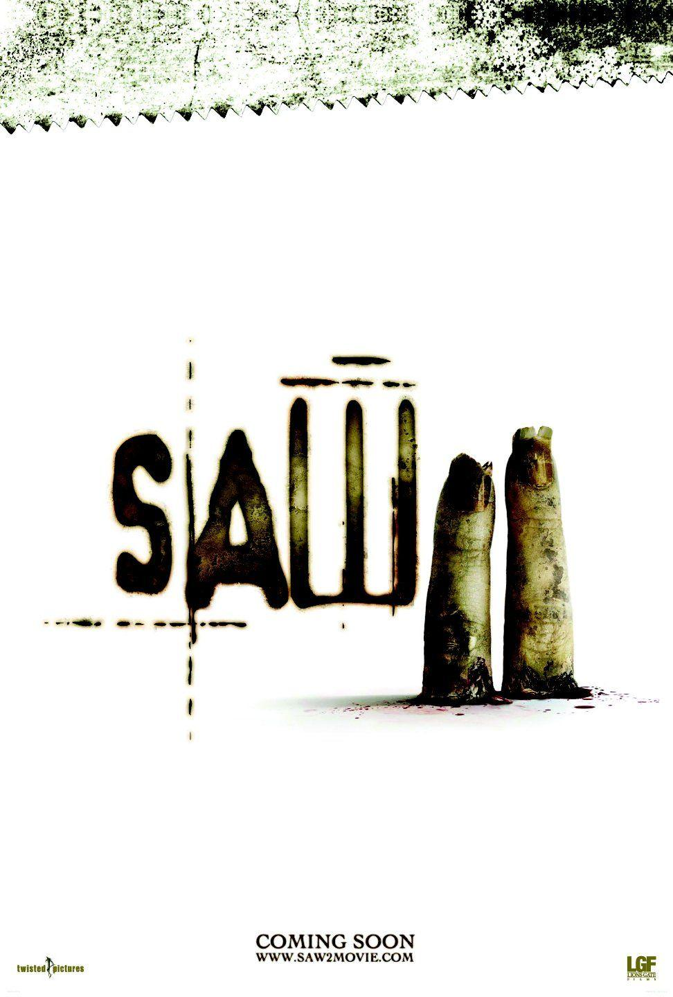 Saw II: Extra Large Image Movie Poster - Internet Movie Poster Gallery Prix