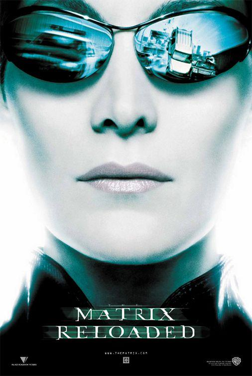 The Matrix Reloaded Movie Poster n ° 10 - Internet Movie Poster Gallery Prix
