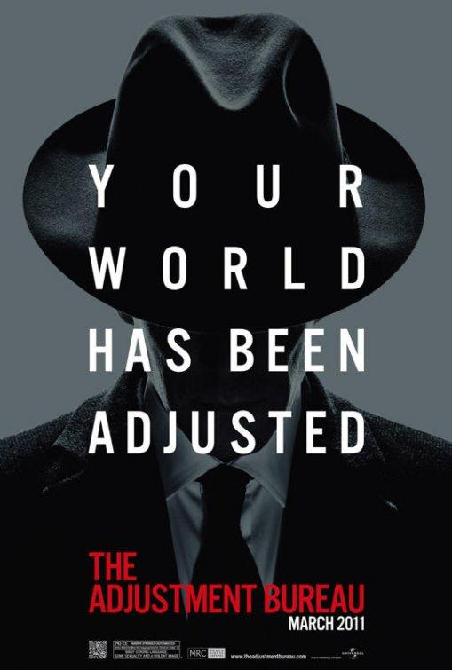 L'affiche du film Adjustment Bureau n ° 4 - Internet Movie Poster Gallery Prix