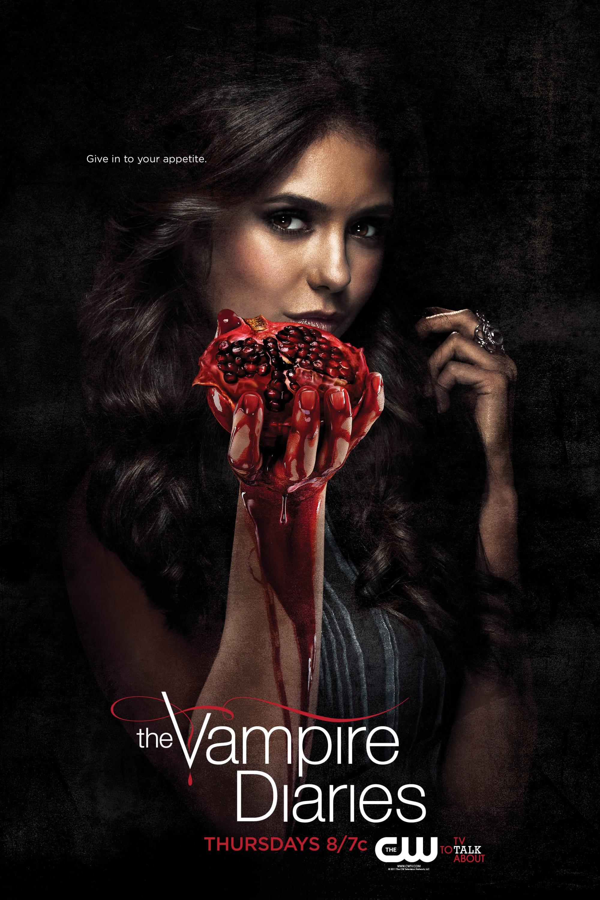 The Vampire Diaries: Mega image au format Movie Poster - Internet Movie Poster Gallery Prix