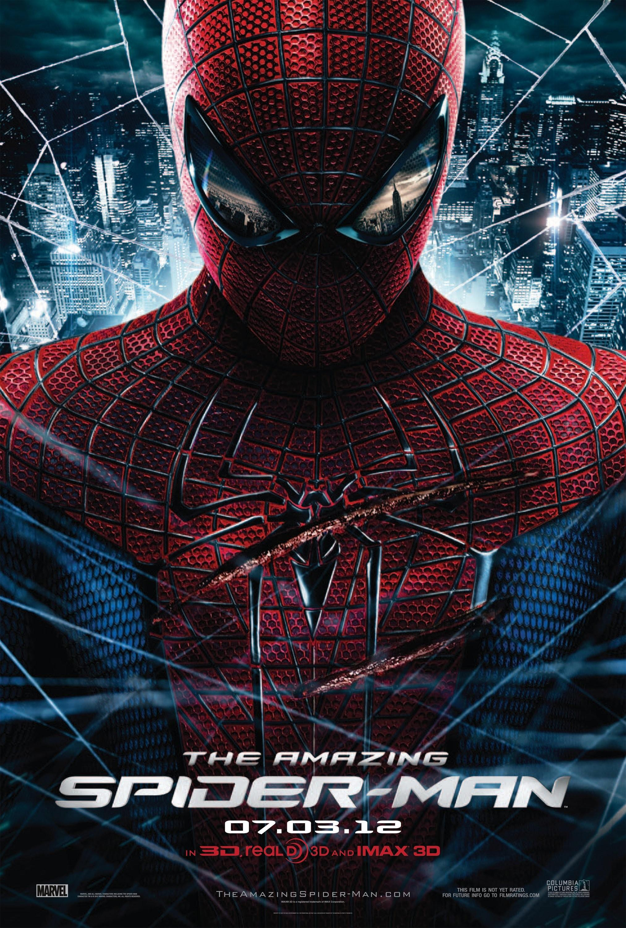 The Amazing Spider-Man: Mega image au format Movie Poster - Internet Movie Poster Gallery Prix