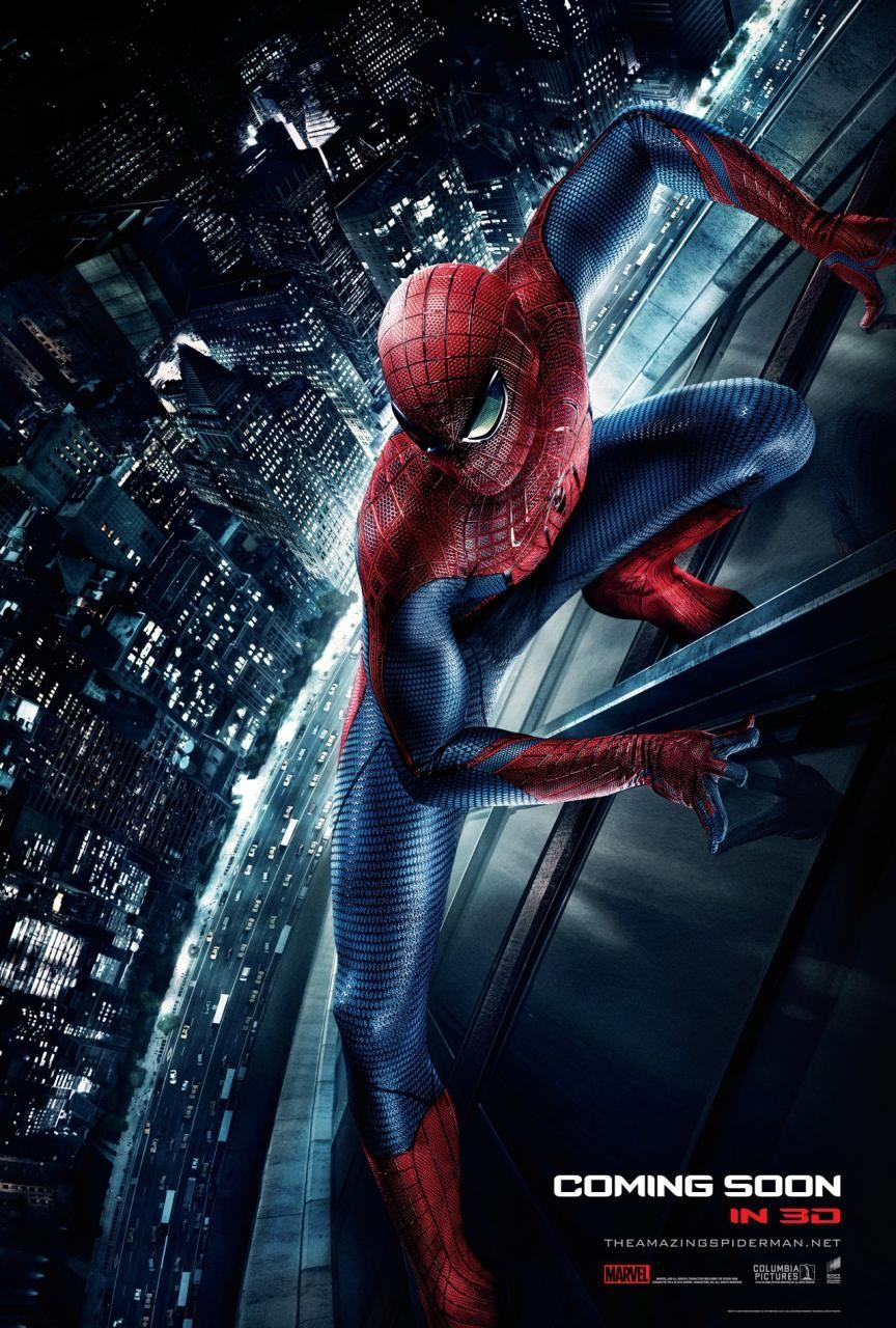 The Amazing Spider-Man: Extra Large Image Movie Poster - Internet Movie Poster Gallery Prix