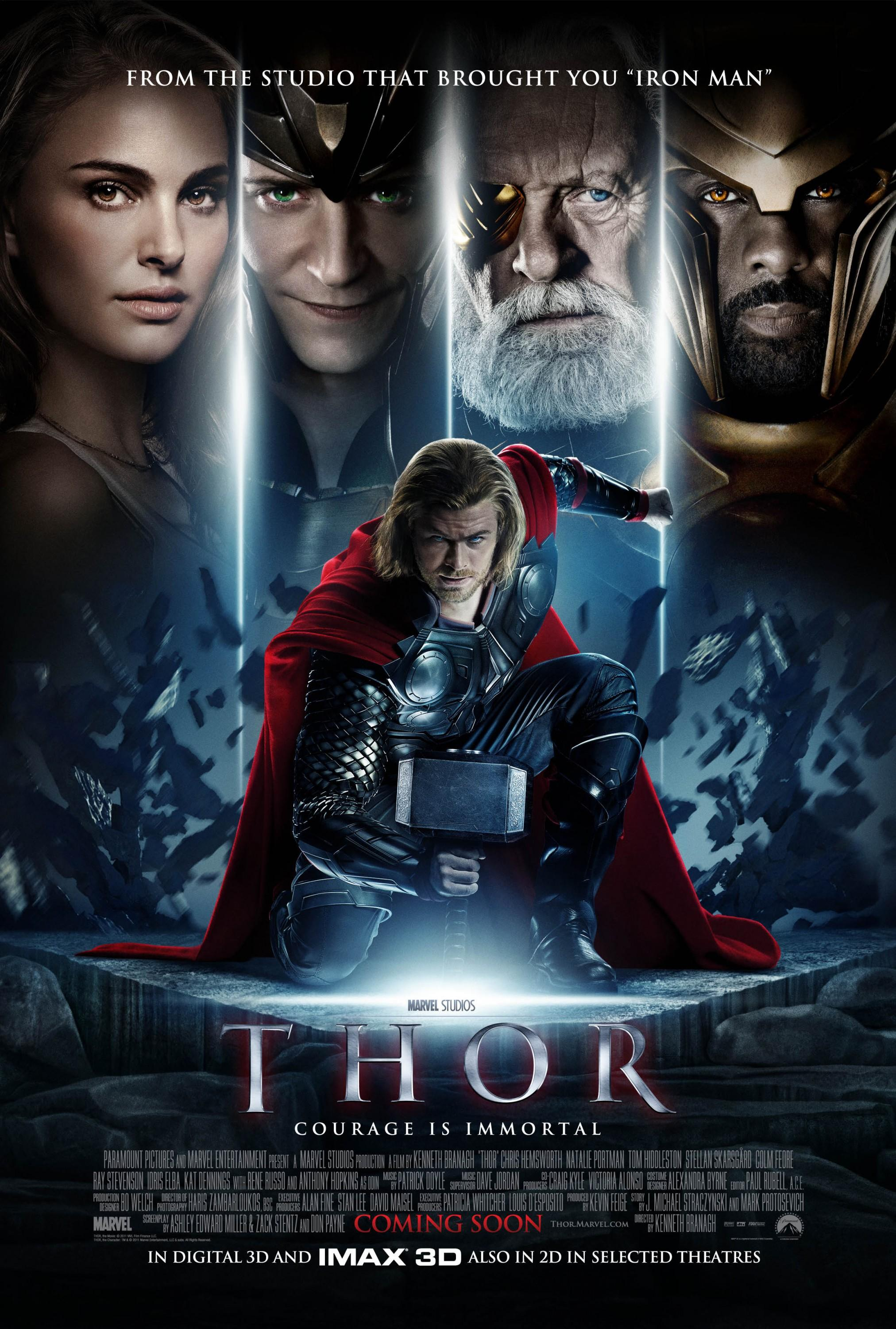 Thor: Mega image au format Movie Poster - Internet Movie Poster Gallery Prix