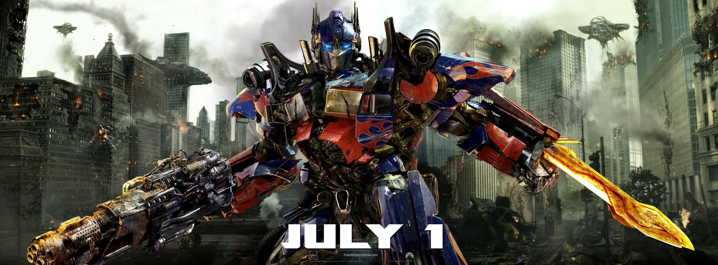 Transformers: Dark of the Moon: Mega image au format Movie Poster - Internet Movie Poster Gallery Prix