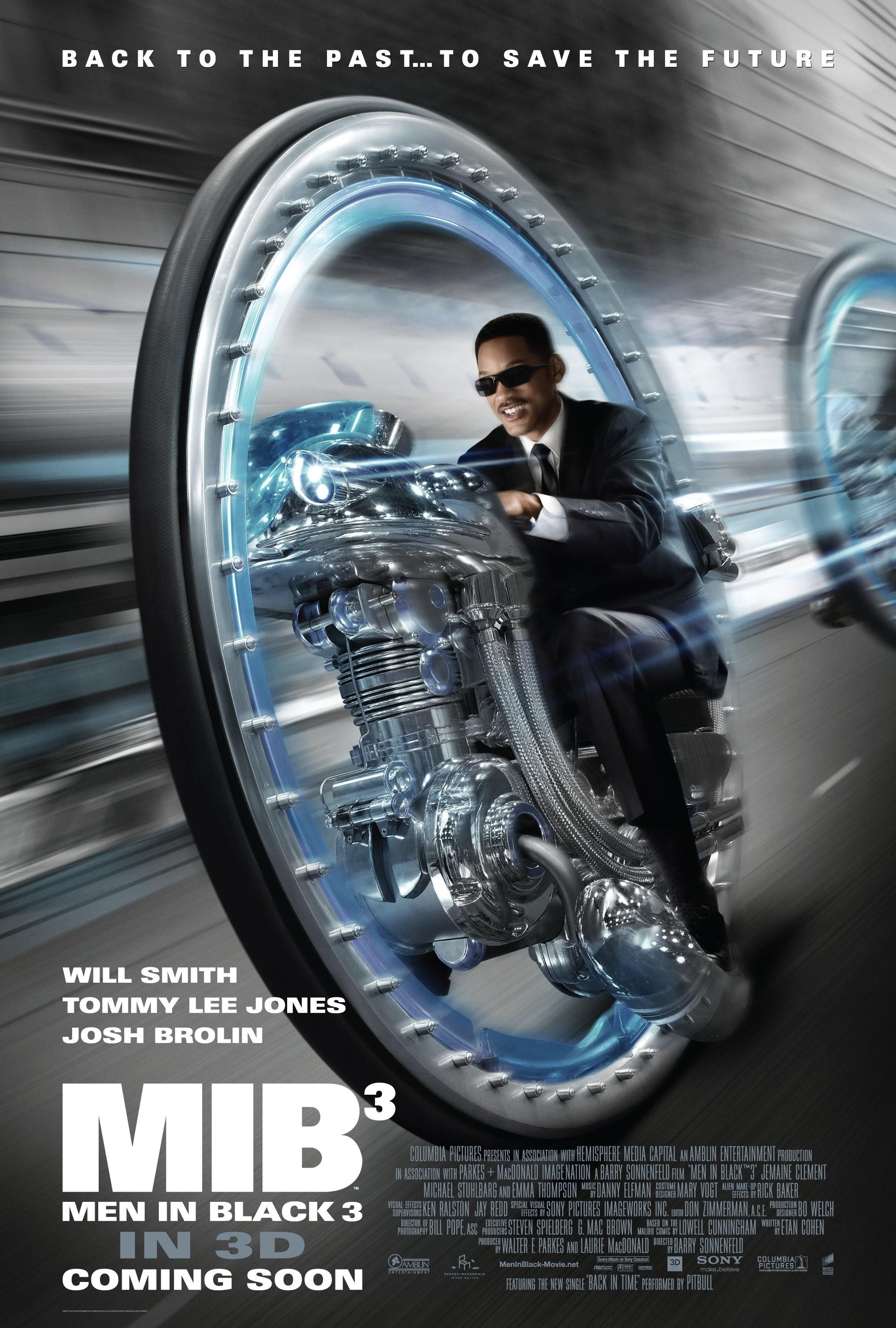 Men in Black III: Mega image au format Movie Poster - Internet Movie Poster Gallery Prix