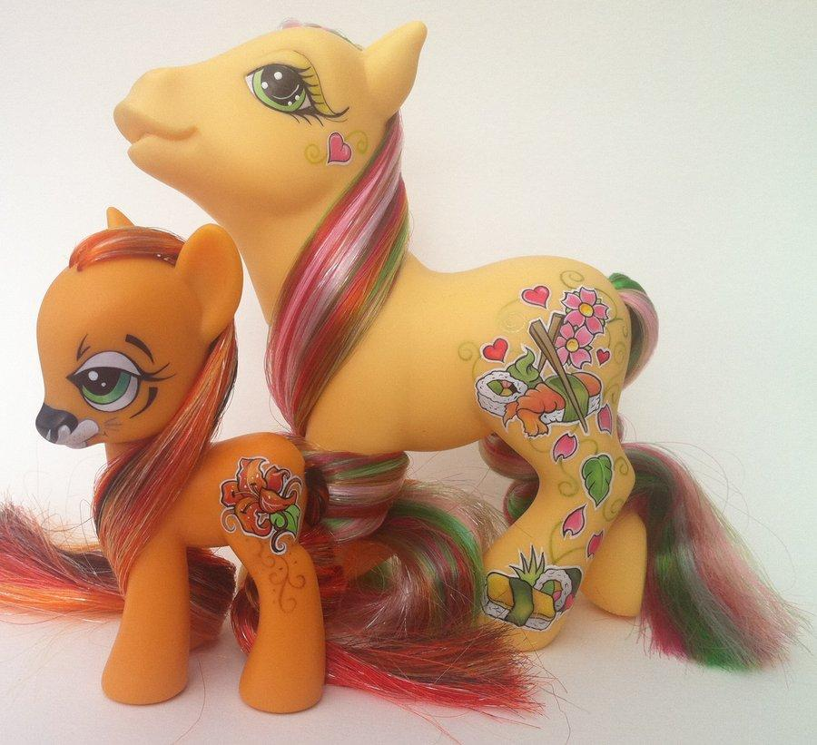 My little pony Tiger lily by ~eponyart