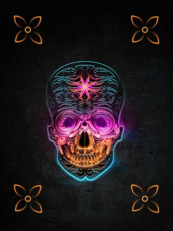 90 Incredible Skulltastic Designs and Artworks (Part 2) | inspirationfeed.com