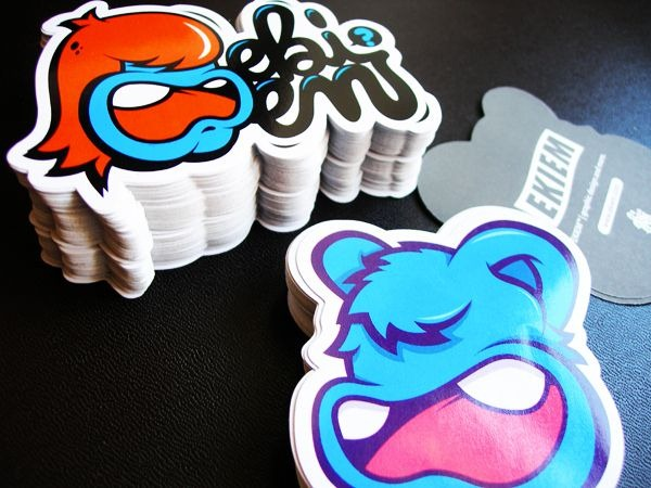 60 Cool and Creative Sticker Designs for Inspiration | Demortalz