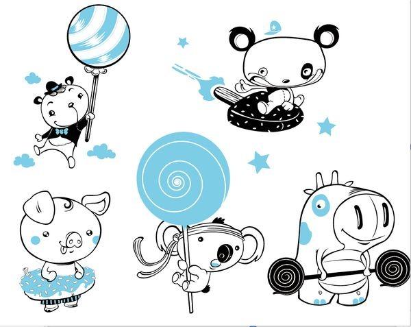 60 Cool and Creative Sticker Designs for Inspiration | Demortalz