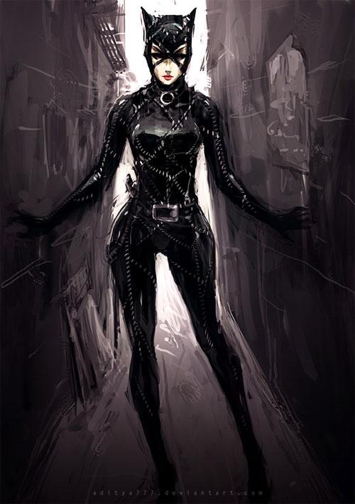 30 Seductive Catwoman Artworks