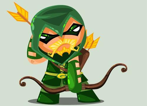 31 Green Arrow Illustration Artworks