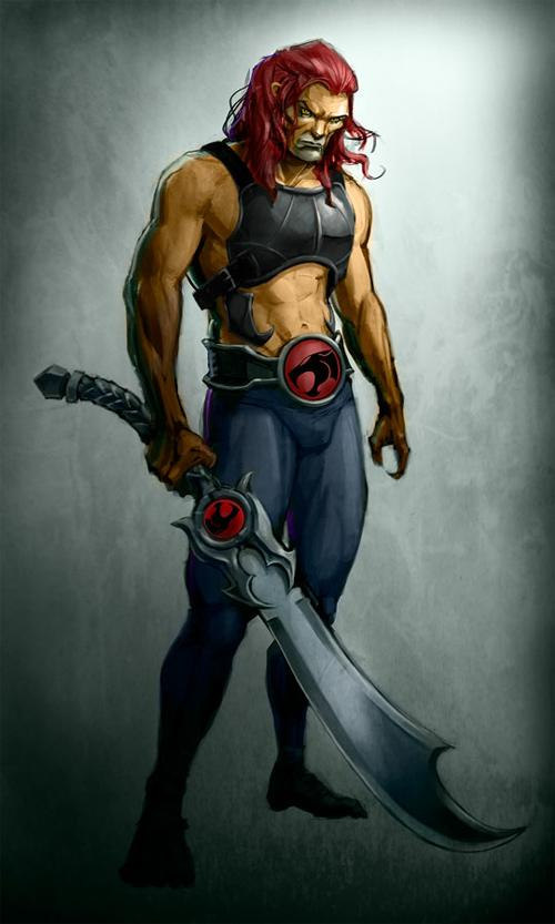 22 Lion-O of ThunderCats Artworks