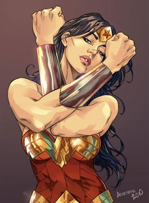 31 Wonder Woman Artworks