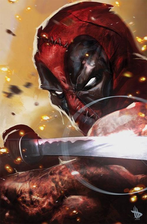 45 Kick-ass Deadpool Illustration Artworks