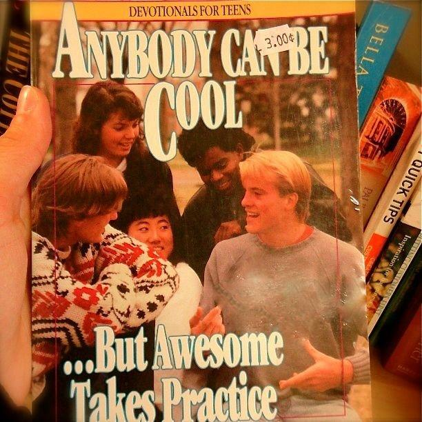 Fancy - Anybody Can Be Cool But Awesome Takes Practice Book