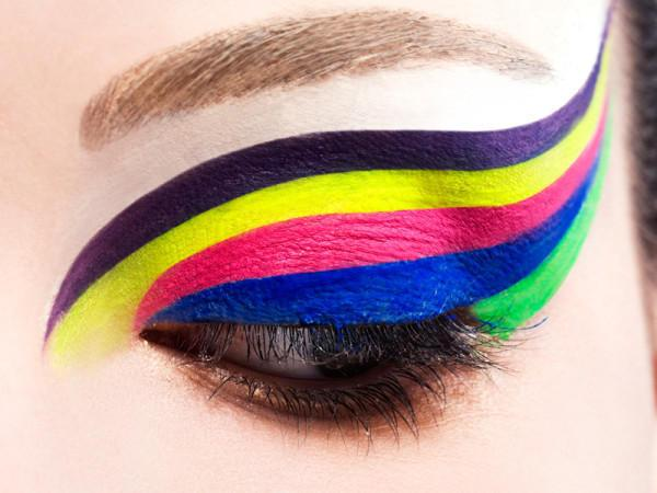 rainbow eye - StyleCraze