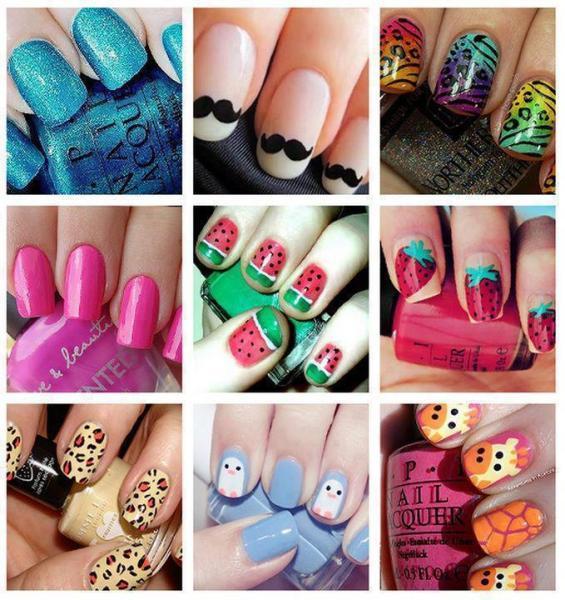 classic nail arts - StyleCraze