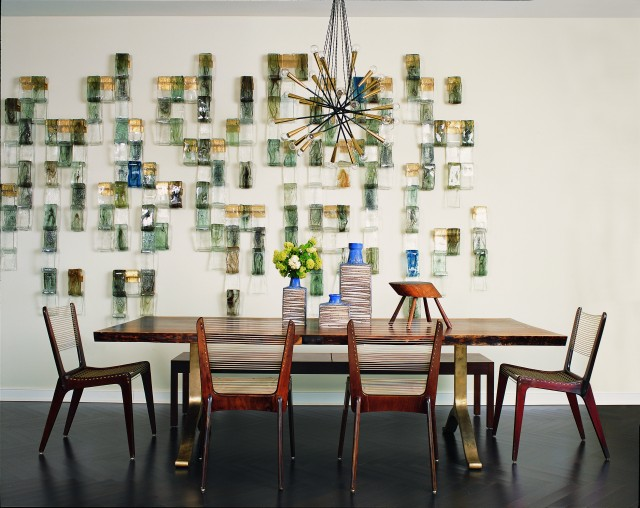 Central Park West Apartment - modern - dining room - new york - by Amy Lau Design