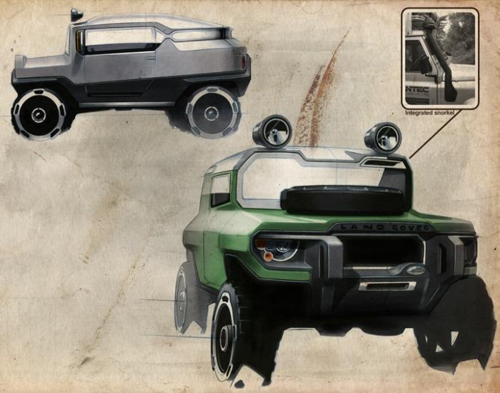 Range Rover D90 by kort neumann at Coroflot.com