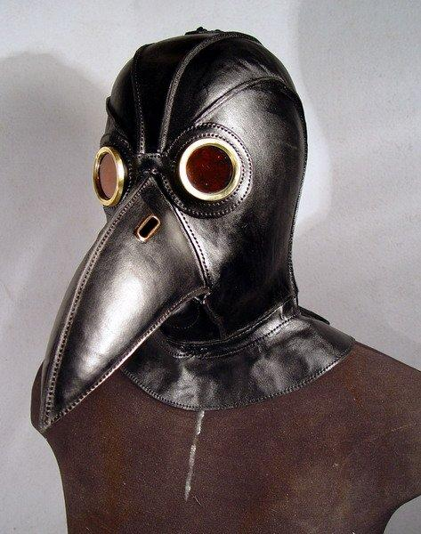 Steampunk Leather Masks | Retronaut