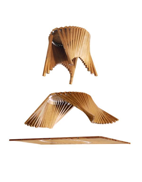 Rising Side Table by Robert van Embricqs » Yanko Design