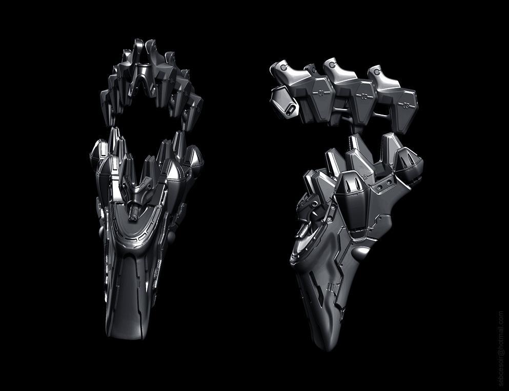 THE RiSiNG (eva 01 head)