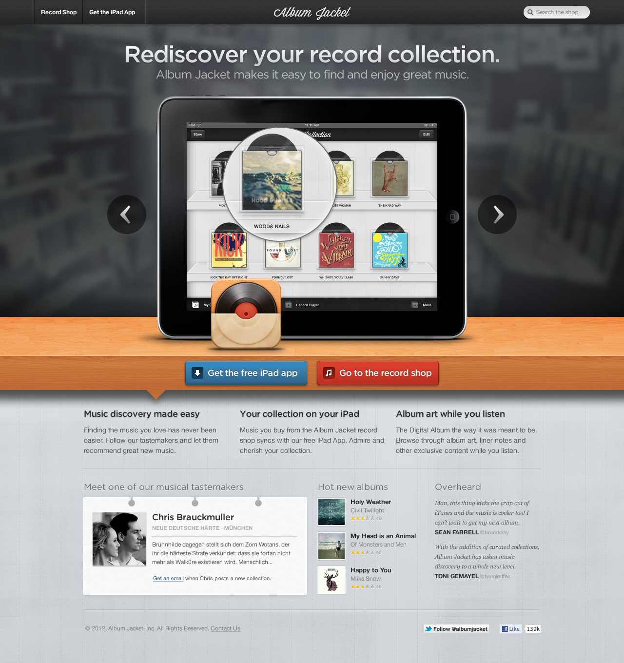homepage-040612.png by Chris Brauckmuller