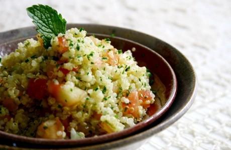 Tabule de Quinoa-real - Receita de Acompanhamentos - ClickGrátis