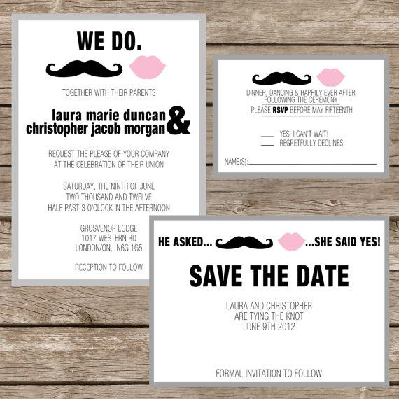 Printable/DIY Wedding Invitation Response by whatthehootdesigns