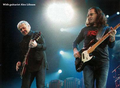 Full Steam Ahead: Geddy Lee & Rush Transcend Time on Clockwork Angels - Bass Player Magazine - August 2012 - courtesy of Cygnus-X1.Net