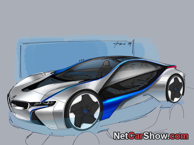 BMW EfficientDynamics Concept wallpaper # 48 of 78, Design Sketches, MY 2009, 800x600