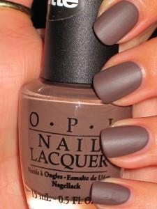 glazy brown nail art - StyleCraze