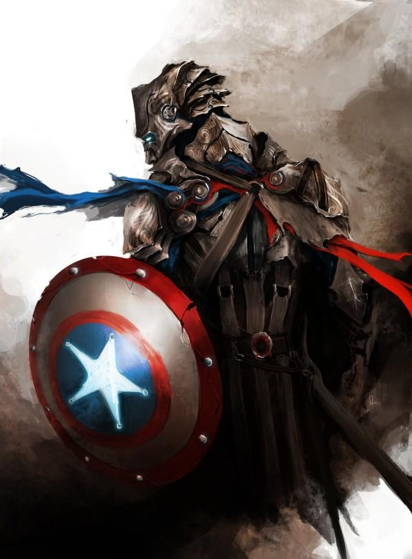 The Avengers Re-Designed as Medieval Fantasy Warriors - icanbeCreative