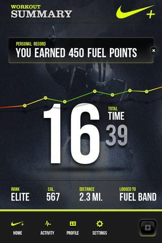 Meer.li - Nike Fuel+ App Concept by Nike Fuel+ App Concept