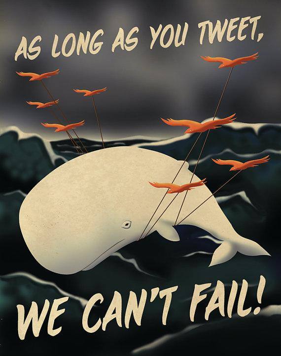 Social Media Propaganda Posters by Aaron Wood | inspirationfeed.com
