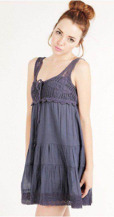 Cyte Babydoll Crochet Dress ~ My Sexy News on Wanelo