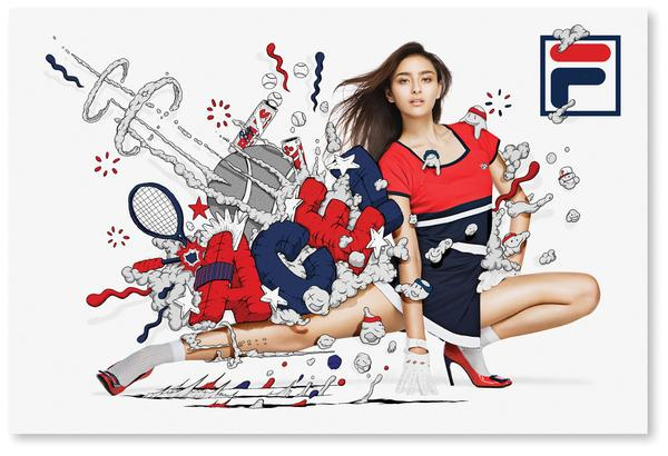 FILA Japan on The Digital Age Served