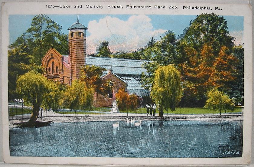 1920's~Monkey House~Fairmount Park Zoo~Philadelphia, PA | eBay
