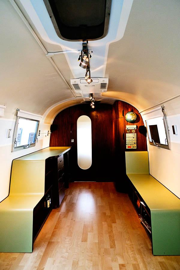 Challenging Open Floor Plan In Airstream Renovation Project [Video] | Freshome